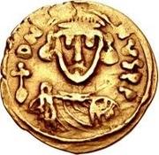 1 tremissis Grégoire / Au nom de Justinien II, 705-711 – avers