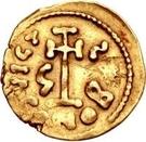 1 tremissis Grégoire / Au nom de Justinien II, 705-711 – revers