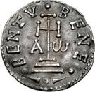 1 denaro Grimoald III – revers