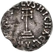 1 denaro Sico (étoile dans le quadrant inférieur droit) – revers