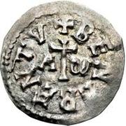 1 denaro Pietro, Évêque régent (monnaie interrégionale) – avers
