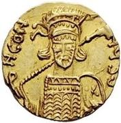 1 solidus Anonyme / Au nom de Constantin IV, 668-685 – avers