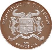 500 Francs CFA - Gorch Fock – avers