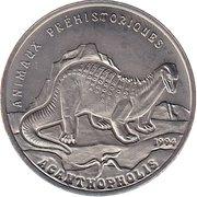 200 francs CFA (Acanthopholis) – revers