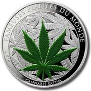 100 francs (Cannabis Sativa) – revers