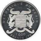 1000 Francs (Sauvons le pays) – avers