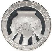 1000 francs CFA (Sauvons le pays) – revers