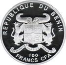 100 francs CFA ( Abies Numidica) – avers
