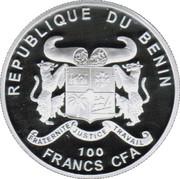 100 Francs ( Abies Numidica) – avers