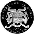 1000 Francs (Coupe du monde de football USA 1994) – avers