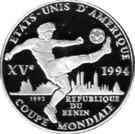 1000 Francs (Coupe du monde de football USA 1994) – revers