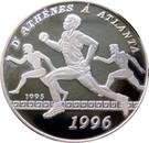 1000 Francs (Olympics) – revers