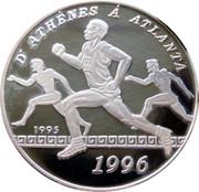 1000 francs CFA (Jeux olympiques Atlanta 1996) – revers