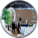 1000 francs CFA (Londres) – revers