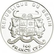 100 francs CFA Convallaria majalis – avers