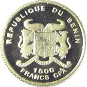 1500 francs (Albert Schweitzer) – avers
