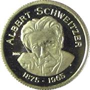 1500 francs (Albert Schweitzer) – revers