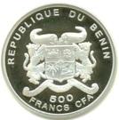500 Francs CFA / Euro Introduction – avers