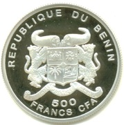500 Francs CFA / Euro Introduction – avers