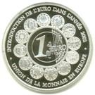 500 Francs CFA / Euro Introduction – revers