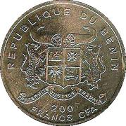 200 francs CFA (Bateau Preussen) – avers