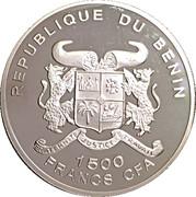 1500 Francs CFA / Euro Introduction – avers