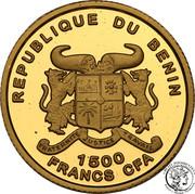 1500 Francs CFA (Euro Introduction) – avers