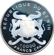 10 000 francs CFA (40e anniversaire du Traité de Rome) – avers