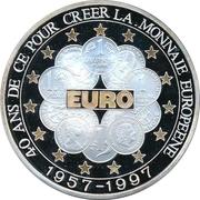 10 000 francs CFA (40e anniversaire du Traité de Rome) – revers