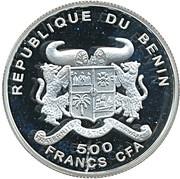 500 francs CFA Ludwig van Beethoven – avers