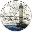 1000 francs CFA Phare de Lindau – revers
