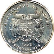 1000 francs CFA (Protégeons notre monde) – avers