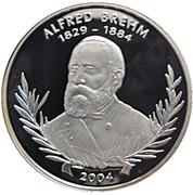 1000 Francs CFA (Alfred Brehm) -  revers