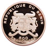 500 Francs CFA (A. Einstein) – avers