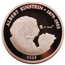 500 Francs CFA (A. Einstein) – revers