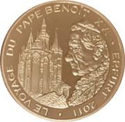 100 Francs CFA (Benoît XVI) -  avers