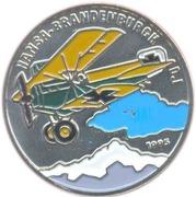 200 francs CFA (avion Hansa Brandenburg D1) – revers