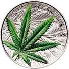 1000 francs CFA (Cannabis Sativa) – revers
