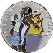 1000 francs CFA (Jeux olympiques Sydney 2000) – revers