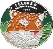 1000 francs CFA (Léopard) – revers