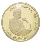 1500 francs CFA (50e anniversaire du décès de John F. Kennedy) – revers