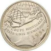 500 francs CFA (Coupe du monde de football USA 1994) – revers