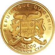 30 000 francs CFA – avers
