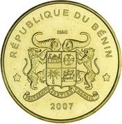 25 000 francs CFA (Bongo, essai) – avers