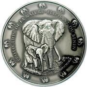 1500 Francs CFA (Éléphant de forêt d'Afrique) – revers