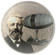 1000 francs CFA (Dirigeable de Jules Verne) – revers