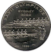 200 francs CFA (Jeux Olympiques Sydney 2000) – revers