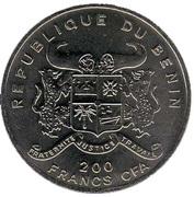 200 francs CFA (Jeux Olympiques Sydney 2000) – avers