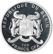 100 francs (Rosa Indica Fragrans) – avers