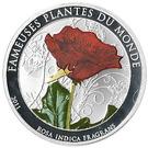 100 francs CFA (Rosa Indica Fragrans) – revers